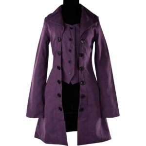 Purple Pirate Coat