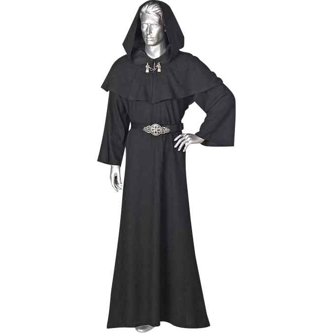 Mens Celtic Ritual Robe With Hood