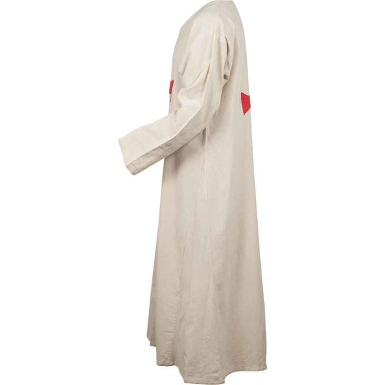 Natural Templar Knight Tunic