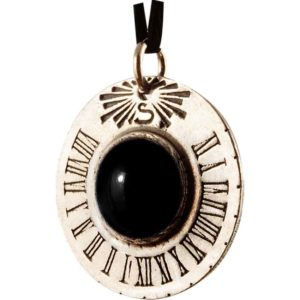 Saturn Sundial Necklace