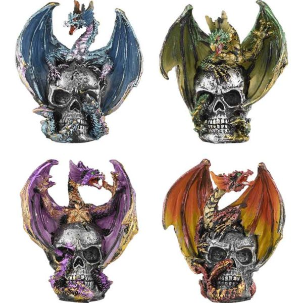 Dragon and Skull Miniature Set