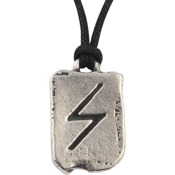 Sigel Rune Charm Necklace for Victory