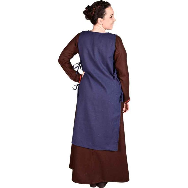 Ormhild Canvas Viking Apron Dress