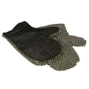 Padded Butted Chainmail Mittens