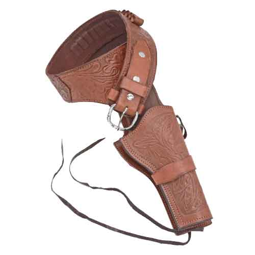 Right Side X-Large Quick Draw Leather Holster