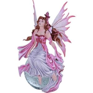Daybreak Fairy Crystal Ball Statue