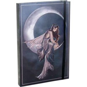 Embossed Memory Moon Fairy Journal