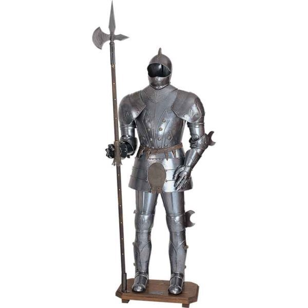 Medieval Full Suit of Armor Display