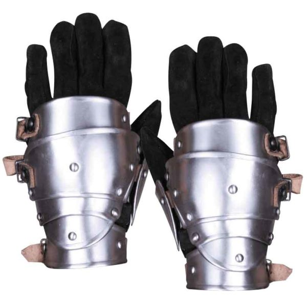 Steel Markward Short Gauntlets