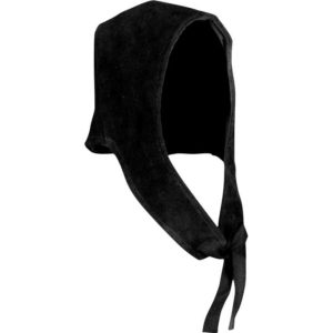Hagen Suede Leather Coif