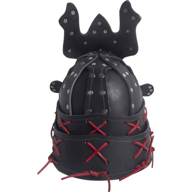 Leather Samurai Helm