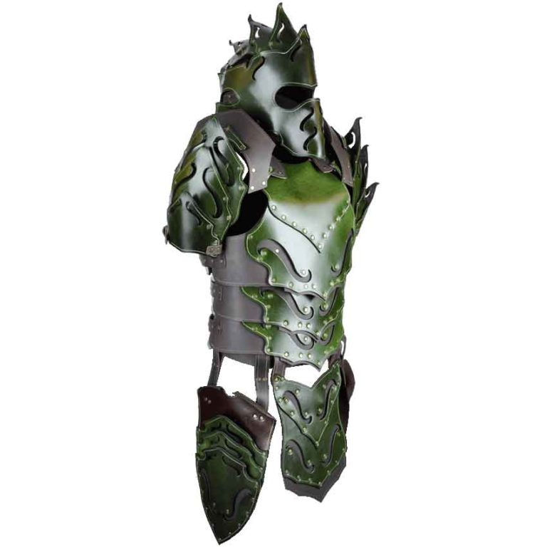 Woodland Leather Armour Package