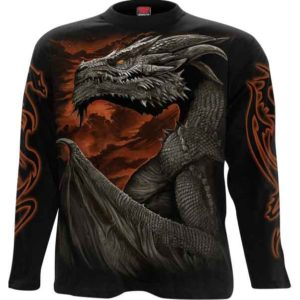 Majestic Draco Long Sleeve T-Shirt