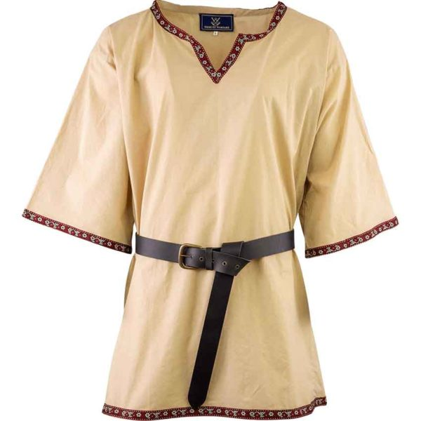 Embroidered Viking Tunic