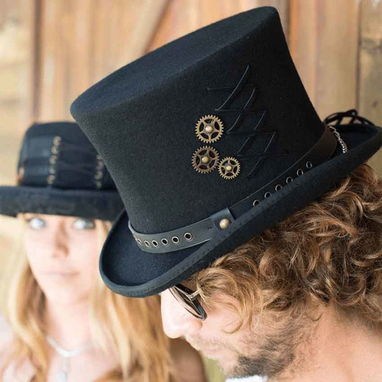 Gear and Lacing Wool Top Hat