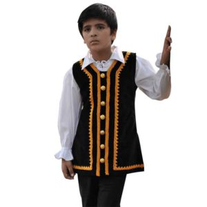 Kids Captain Jack Pirate Vest