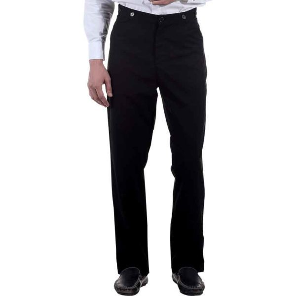Black Victorian Trousers