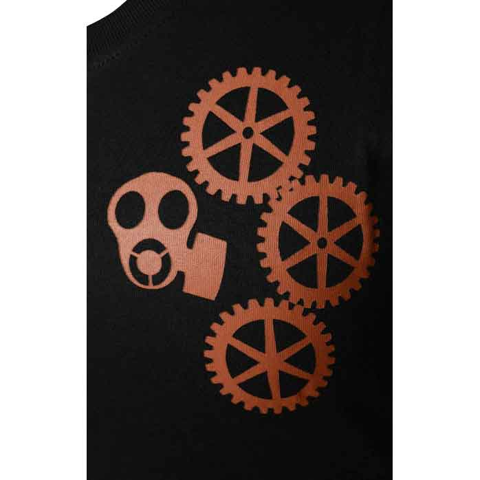 Mens Steampunk Gears T-Shirt