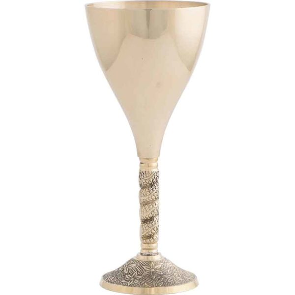 Noble Brass Chalice