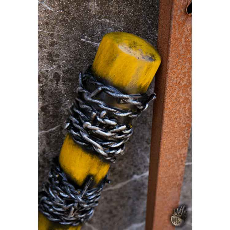 Barbed Wire LARP Bat - Yellow