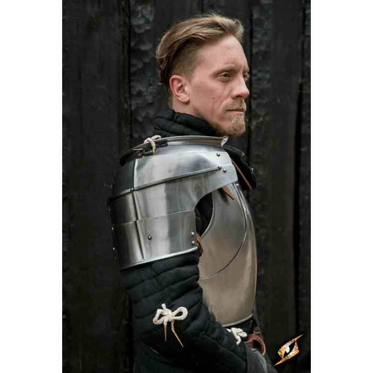 Milanese Complete Armor - Polished Steel