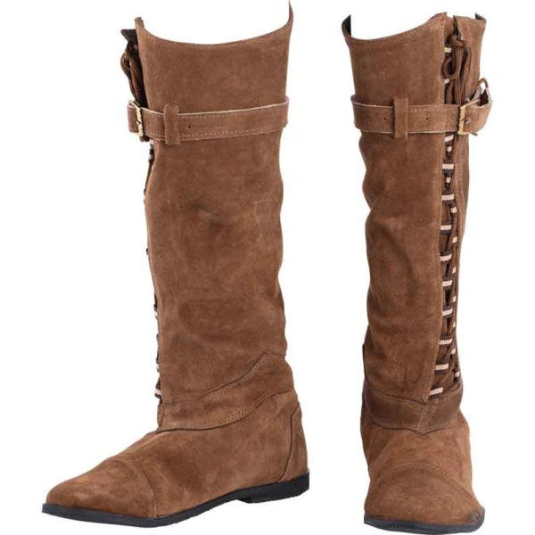 Taras Laced Suede Boots