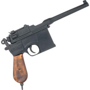 Black World War II Mauser Automatic Pistol
