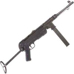 German WWII Submachine Gun