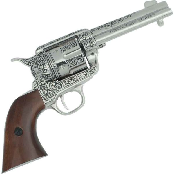 Engraved M1873 Single Action Revolver