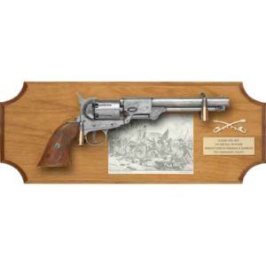 Gettysburg Pistol Wood Display Plaque