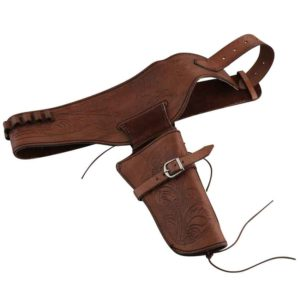 Western Single Pistol Belt Holster