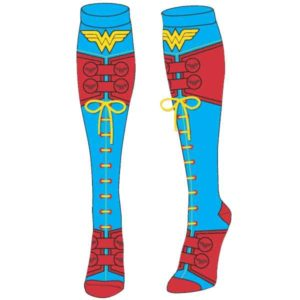 Wonder Woman Suit Lace Up Socks