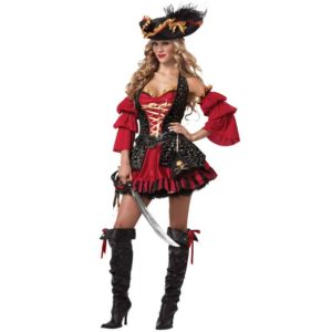 Womens Spanish Pirate Costume