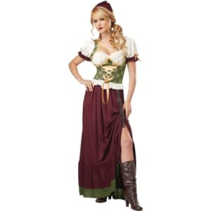 Womens Renaissance Wench Costume