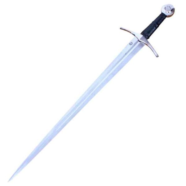Medieval Knights Sword With Scabbard