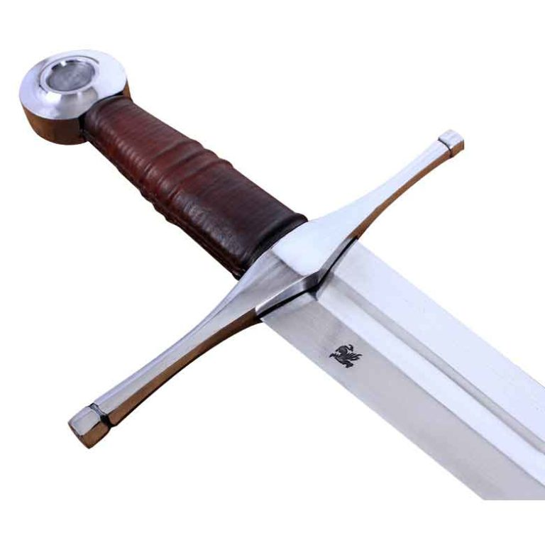 Norman Sword With Scabbard