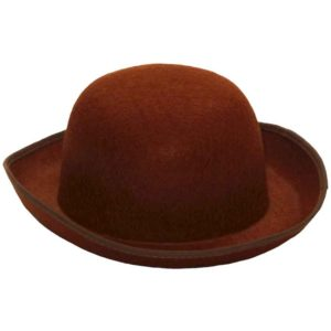 Steampunk Brown Derby Hat