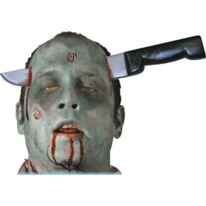 Zombie Knife Thru Head