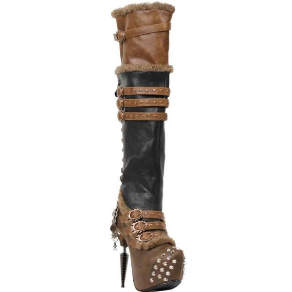 Ventail High Laced Steampunk Boots