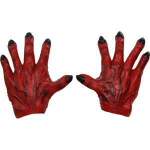 Red Monster Hands