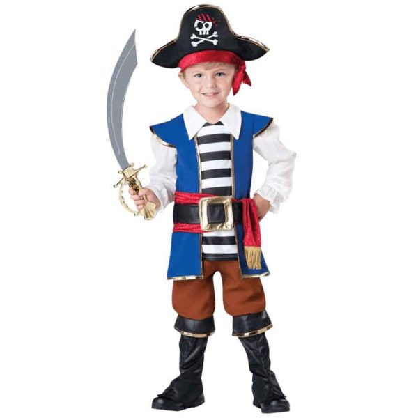 Pirate Boy Toddler Deluxe Costume