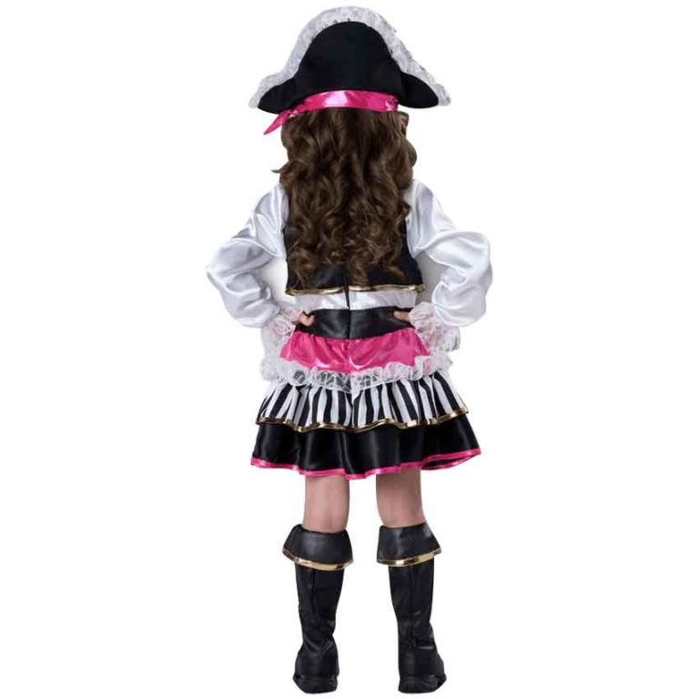 Pirate Girl Toddler Deluxe Costume