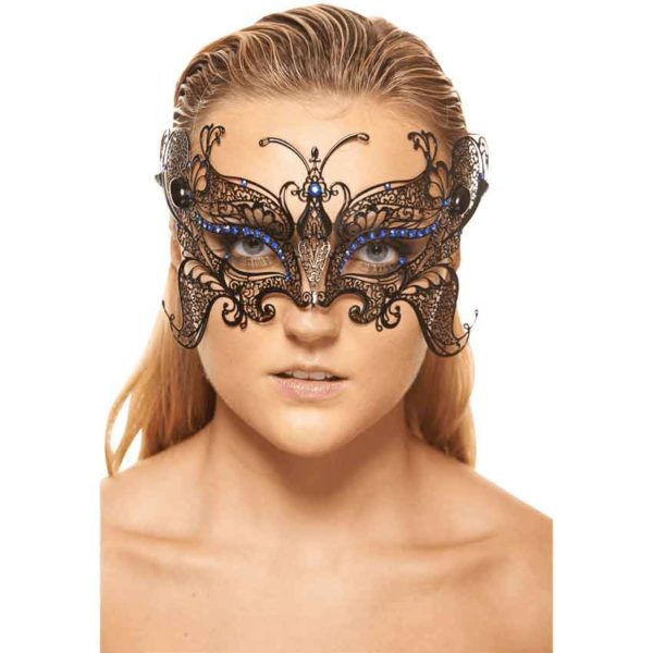 Black Gorgeous Butterfly Mask
