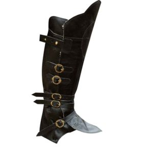 Ornate Buckle Pirate Gaiters