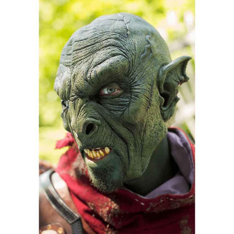 Green Orc Beast Mask