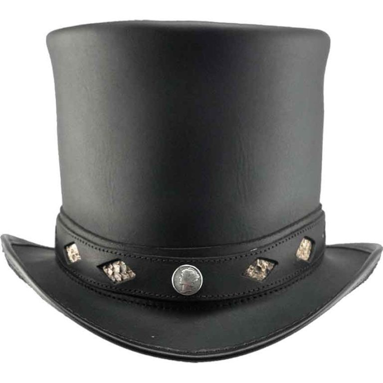 Casual Stove Piper Steampunk Hat