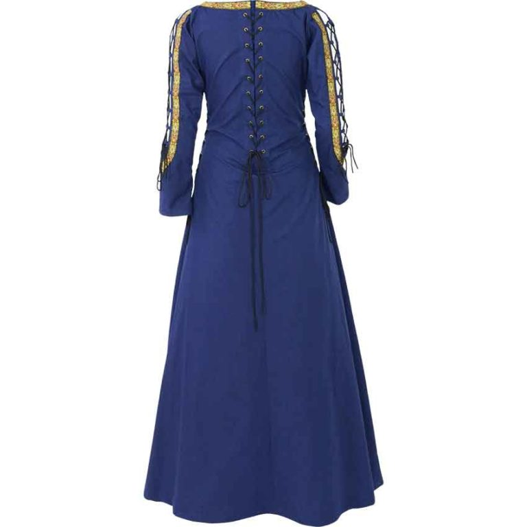 Lace Up Sleeve Noble Maiden Gown