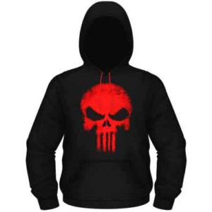 The Punisher Shadow Hooded Pullover