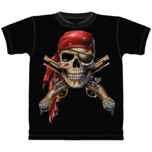 Skull And Flintlocks Child's T-Shirt