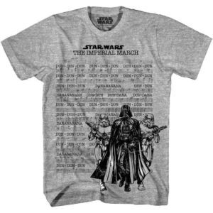 Star Wars Imperial March Sheet Music T-Shirt